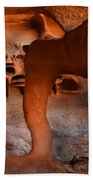 Fire Cave Windstone Arch Nevada Beach Towel