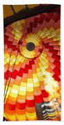 Fire In The Belly Beach Towel