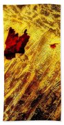Fire Of The Frost Beach Towel