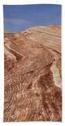 Fire Wave - Valley Of Fire Beach Towel