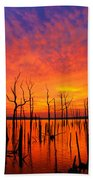 Fired Up Morn Beach Towel