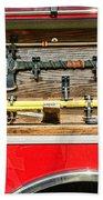 Fireman - Life Saving Tools Beach Sheet