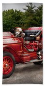 Fireman - Phoenix No2 Stroudsburg Pa 1923  Beach Towel by Mike Savad