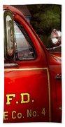 Fireman - This Is My Truck Beach Towel