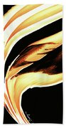 Firewater 2 - Buy Orange Fire Art Prints Beach Towel