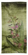 Fireweed - Featured In 'comfortable Art' Group Beach Towel
