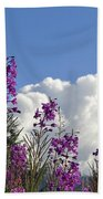 Fireweed Sky Beach Towel