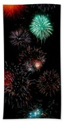 Colorful Explosions No2 Beach Towel