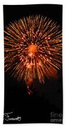Fireworks 2014  13 Beach Towel