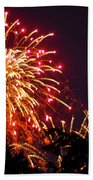 Fireworks 2014  4 Beach Towel