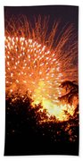 Fireworks 2014  5 Beach Towel