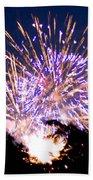 Fireworks 2014  6 Beach Towel
