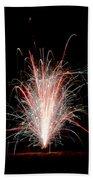 Fireworks 24 Beach Towel