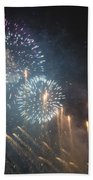 Fireworks-2887 Beach Towel