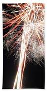 Fireworks 45 Beach Towel
