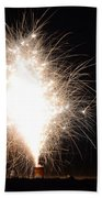 Fireworks 46 Beach Towel