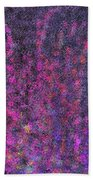 Fireworks Abstract Beach Towel