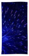 Fireworks At Night 1 Beach Towel