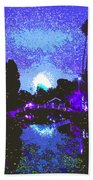 Fireworks Venice California Beach Towel by Jerome Stumphauzer