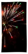 Fireworks2 Beach Towel