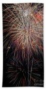Fireworks6503 Beach Towel