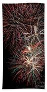 Fireworks6518 Beach Towel