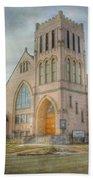 First Avenue Presbyterian Church  Beach Towel