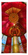 First Order Fresnel Lens Beach Towel