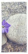 First Periwinkle  Beach Towel