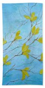 First Signs Of Spring Beach Towel