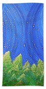 First Snow By Jrr Beach Towel