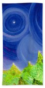 First Star By  Jrr Beach Towel