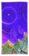 First Star Sunrise Beach Towel