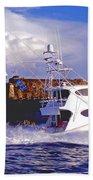 Fish Hunter Beach Towel
