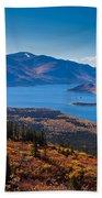 Fish Lake - Yukon Territory - Canada Beach Towel