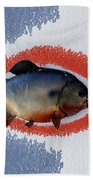 Fish Mount Set 12 B Beach Towel