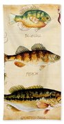 Fish Trio-c Beach Towel