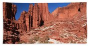 Fisher Towers Amphitheater Beach Towel