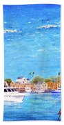 Fisherman's Village Beach Towel