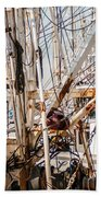 Fishing Boats Equipment Chaos Beach Towel