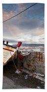 fishing boats 'XVI Beach Towel