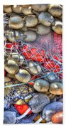 Fishing Bouys Beach Towel