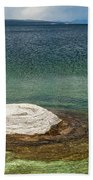 Fishing Cone In West Thumb Geyser Basin Beach Towel