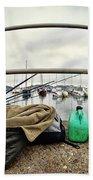 Fishing Gear Beach Towel