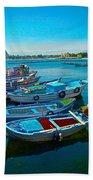 Fishing Livelihood  Beach Towel