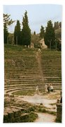 Fisole Theatre Ruins Beach Towel