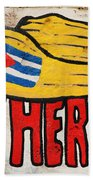 Five Heroes Cuba Beach Towel