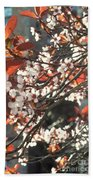 Five Petals - Spring Blossoms Beach Towel