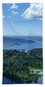 Fjord View Beach Towel