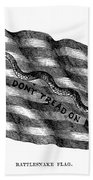 Flag: Dont Tread On Me Beach Towel